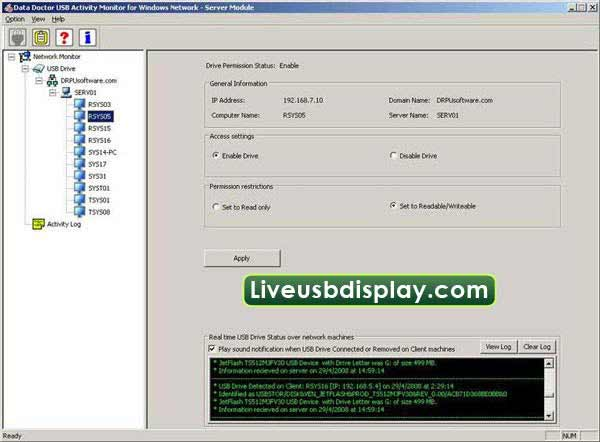 How to Block USB Access screenshot
